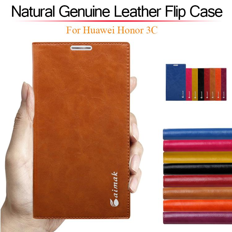 8 color,Natural Genuine Leather Stand Flip Case for Huawei Mate 2 Mate2 Luxury Mobile Phone Cases(China (Mainland))