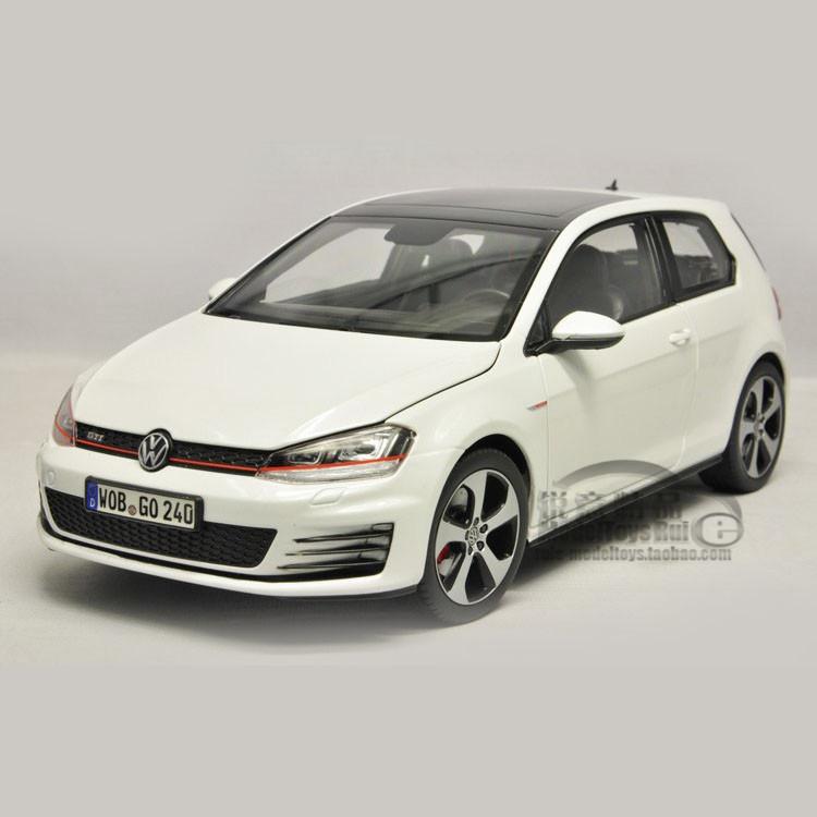 1:18 Germany Volkswagen factory Norev VW 7 Golf GTI 2013 generation golf car model(China (Mainland))