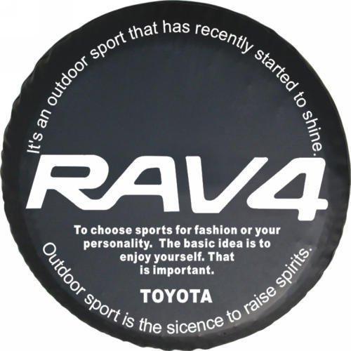 Wholesale spare tire is suitable for the SUV Toyot/a RAV4 series automobile spare tire cover 14 15 16 17 inches free shipping(China (Mainland))