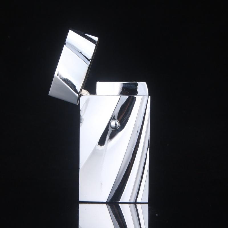 ถูก 2016โลหะอิเล็กทรอนิกส์windproofเบาสร้างสรรค์ไฟแช็โลหะ,ของขวัญของผู้ชาย