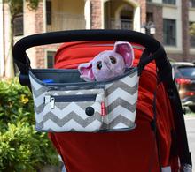 Baby Stroller bag Nappy Diaper bag carriage hanging basket storage organizer bolsa maternidade para bebe Stroller Accessories(China (Mainland))