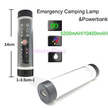 Bling Magnetic Mini Power Bank LED Emergency Camping Lamp For Riding Hiking Car Emergency 5000 mah/10000 mah