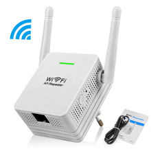 Mini Wifi Repeater 300Mbps Network Signal Amplifier 2.4G WiFi Extender 2dBi Antenna Wireless Signal Booster Repetidor(China (Mainland))