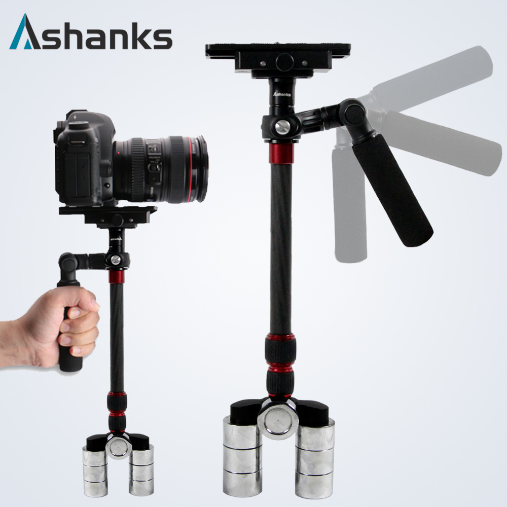 DHL Free shipping 1-3KG A-68C Carbon Fiber DSLR Video Camera Stabilizer A68C for DSLR camera DV camcorder Steadycam Steadicam