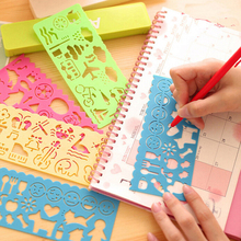 20pcs Free Shipping Wholesale Stationery Variety Spent Multifunction Sketchpad Puzzle Ruler School Supplies Kid Children Prize(China (Mainland))