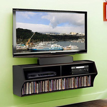 Wall Mounted Console for Audio and Video (Black)(China (Mainland))