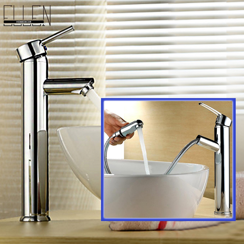 Free shipping Tall faucet bathroom water mixer tap bathroom basin faucet(China (Mainland))