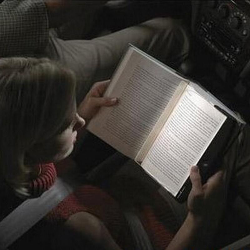 New Magic Night Vision Light LED Reading Book Flat Plate Portable Car Travel Panel, Free & Drop Shipping(China (Mainland))