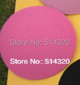 B006 Hot Pink 2/lot Circle Round Millinery Hat Fascinator and Headpieces Base DIY Craft 11cm EVA Wholesale(China (Mainland))