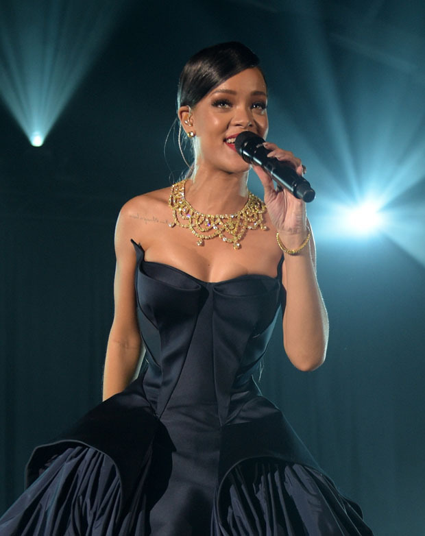 Rihanna Dress Ball Gown
