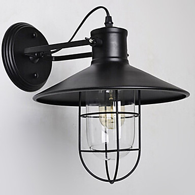 Vintage Industrial Wall Lights Lamp , Sconce Retro Industry Style Birdcage Loft Edison Bulb - JIAHE Lighting Store store