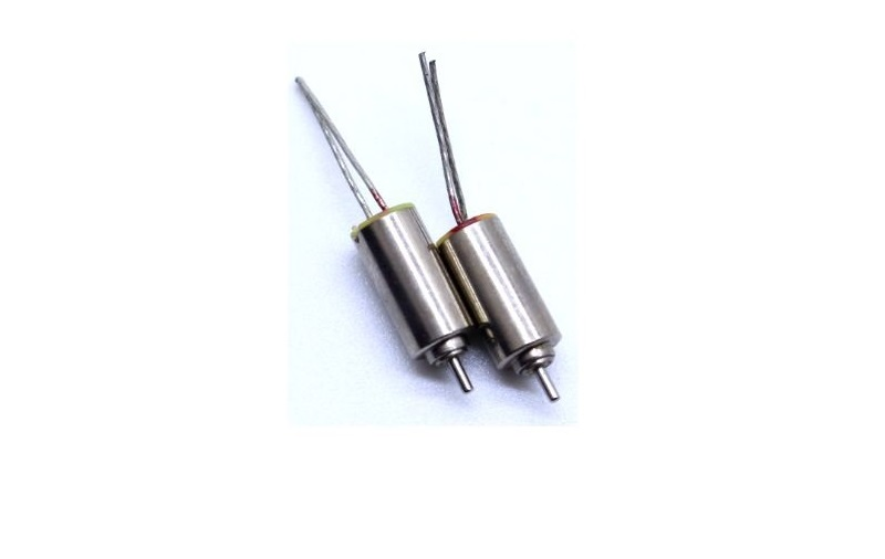 2PCS/lot Micro Coreless Motor 3V 70000RPM 4*8mm Hollow Cup Motors High Speed NdFeB Magnetoelectric Motor JSDJCM48Y