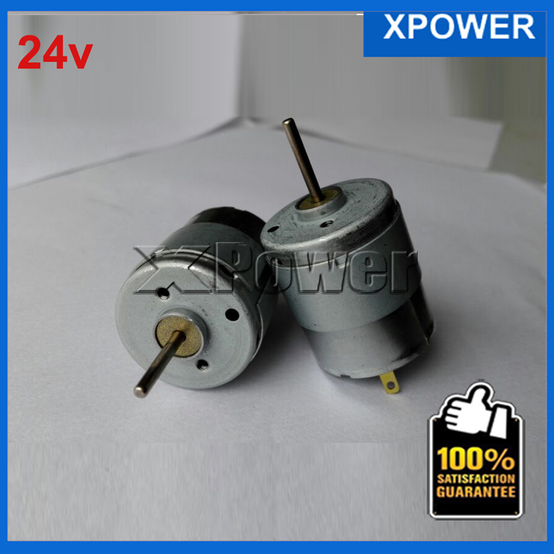 Wholesale RS360-1 7.2v 12v 15v 18v 24v Micro Motor 6300-19400rpm Dc Motor 12V Electric Motor 42-78G.Cm For Diy Experiment Xpower(China (Mainland))