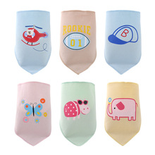 2015 New 100 cotton baby clothing boys girls waterproof infant baby bibs towel ldren cravat Saliva