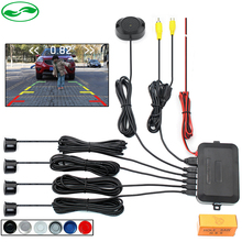 2016 Dual Core CPU Car Video Parking Sensor Reverse Backup Radar Alarm System , Display Image and Sound Alert For Auto Monitor(China (Mainland))