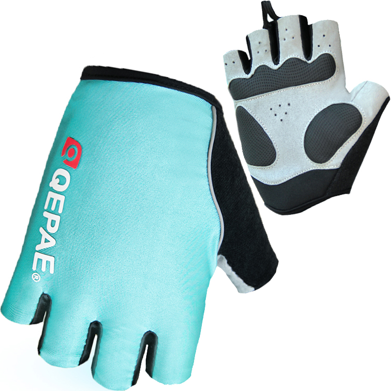 Summer Cycling Gloves Women Half Finger Lycra MTB Bike Gloves For Fitness Breathable Sport Guantes Bicicleta Cycling Gloves(China (Mainland))