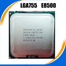 Original  Core 2 Duo E8500 Processor(3.16GHz/ 6M /1333MHz/)Dual-Core Socket 775 tested100%working + Free Shipping