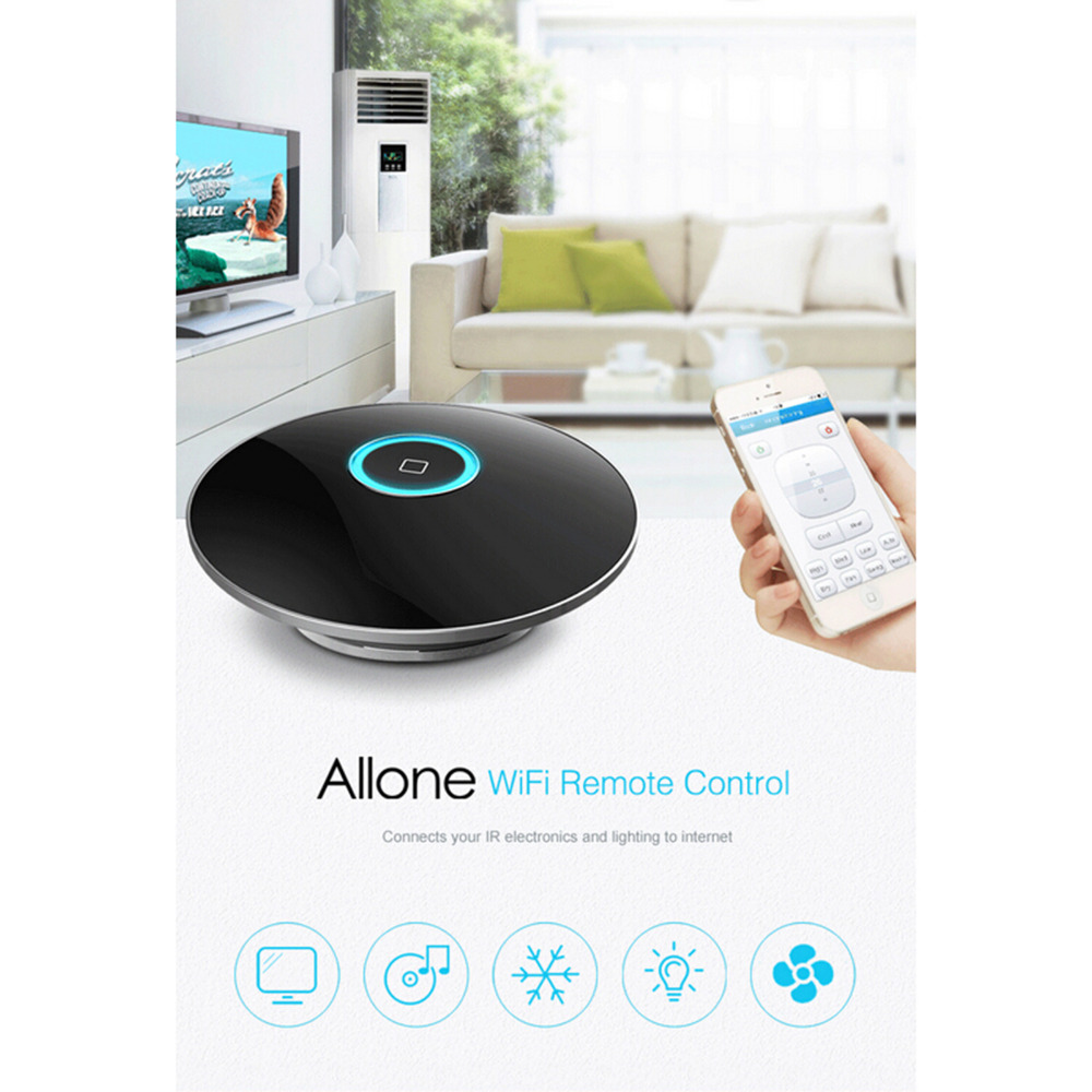 RondFul High Quality Allone WiFi Smart Mobile Phone Automation Home Remote Control Switch For iPhone xiaomi Oppo Free shipping<br><br>Aliexpress