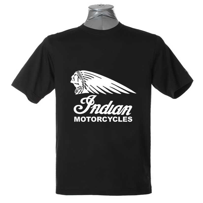 Free Shipping INDIAN MOTORCYCLES VICTORY Cotton O Neck Short Sleeve Cool Camiseta Men Camisetas Black T Shirt, Unisex(China (Mainland))