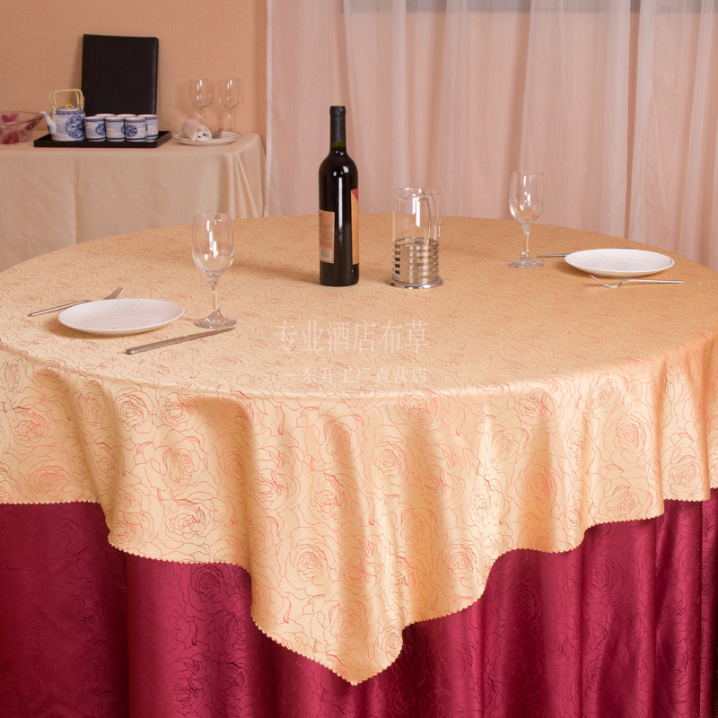 DS38 peony high-grade jacquard wedding wedding tablecloth table cloth cloth can be customized direct export(China (Mainland))