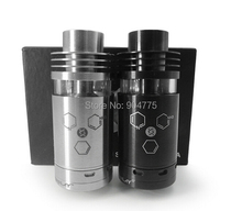 E-cig sliverplay Atomizers 1:1 Clone Electronic Cigarette RTA Atomizer 510 thread Stainless Steel silverplay airflow Tank RDA