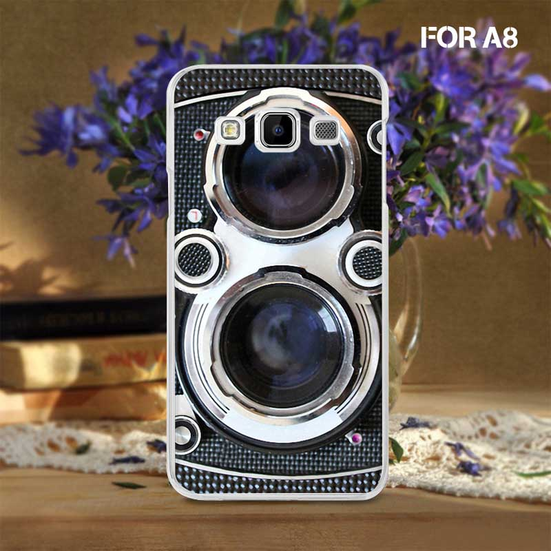 Digital Camera Great Discount Simple and Cheap Mobile Phone Skin Cover for Samsung A8(China (Mainland))