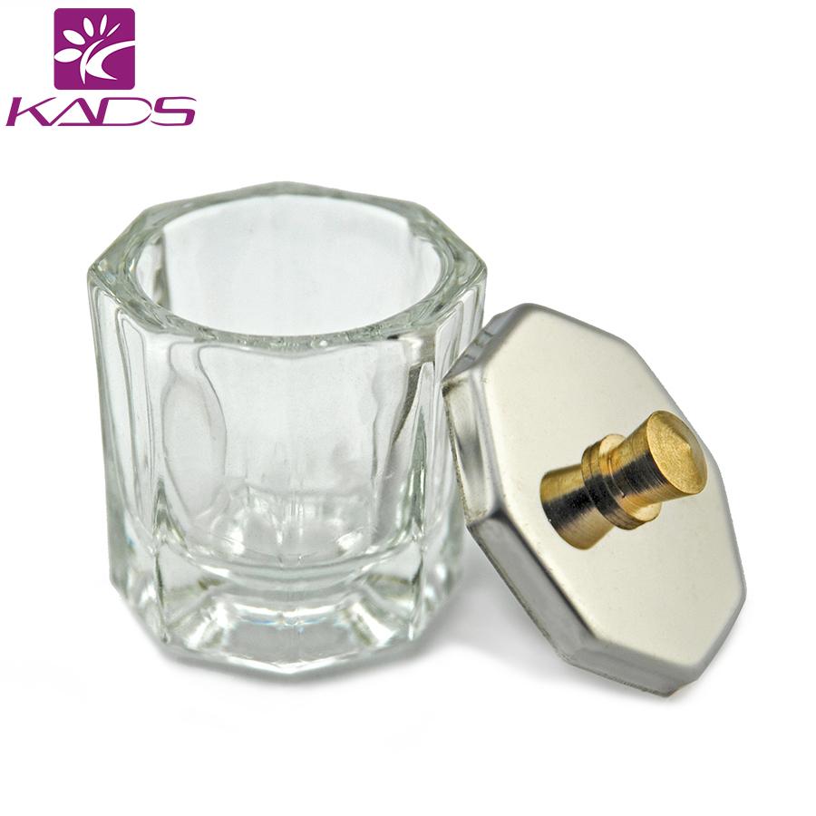 KADS Crystal Glass Dappen Dish/Lid Bowl Cup Crystal Glass Dish Nail Art Tools Acrylic Nail Art Equipment Mini Bowl Cups(China (Mainland))