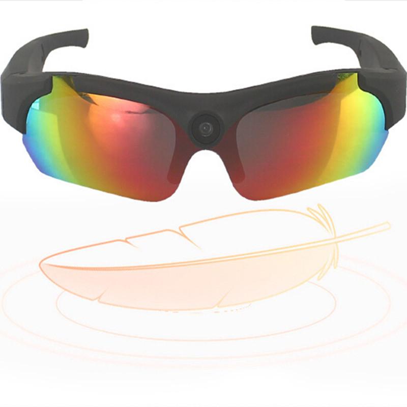 Smart Video Camera Sunglasses 1080P HD Video Glasses 170 Wide-angle Camera Video Camera Glasses Outdoor Sports Smart Glasses(China (Mainland))