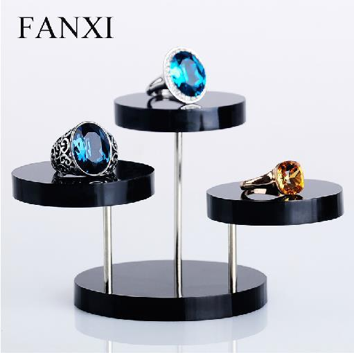 aliexpress buy movable 3 layers clear pendants rings