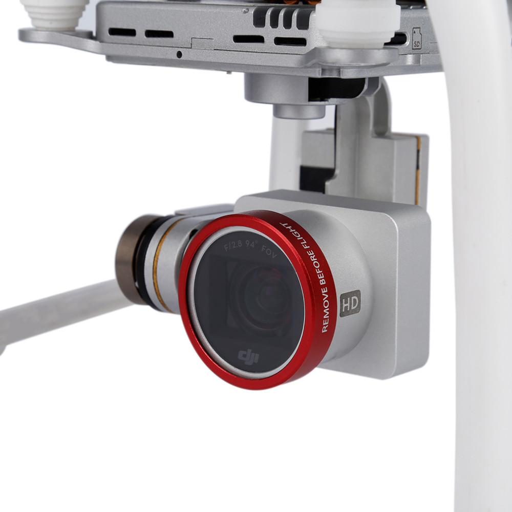 DJI phantom 4 3 Lens Filter MCUV ND4 ND8 CPL /Lens Cover Filter Case bag Professional Advanced Camera Accessory Mirror Polarizer