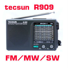 Tecsun R-909 FM / MW / SW 9 Band Word Receiver Portable Radio Stereo R909