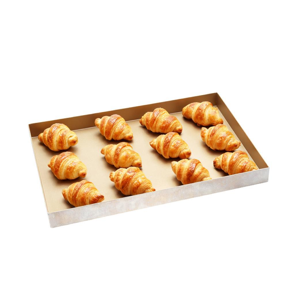 Cake Baking Pan Cookie Tray Baking Sheet Plate Cookie Sheet Pizza Pan High Quality Aluminum Alloy 35*25*3cm Cake Baking Tray(China (Mainland))