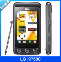 KP500 Original Unlocked LG KP500 Bar Phone 3.15MP Quad Band Bluthooth Mobile Fast Shipping GSM 850 / 900 / 1800 / 1900(China (Mainland))