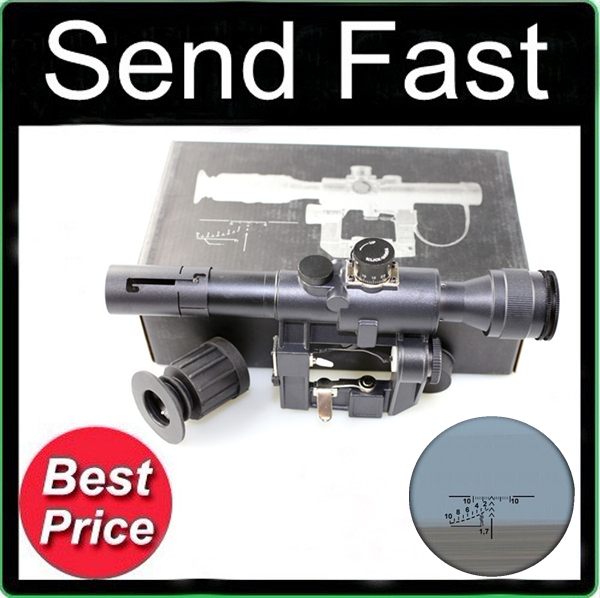 4x26 SVD Sight Rifle Scope with Free Mounts<br><br>Aliexpress