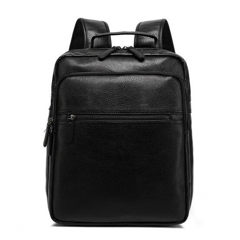 Famous Brand Pu Leather Men Backpack Bags Large Men Travel Bag Luxury Designer Pu leather School Bag Laptop Backpacks(China (Mainland))