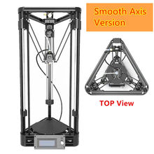 3D Printer DIY Kit Injection Kossel Mini 3D Printer Axis Smooth Rail