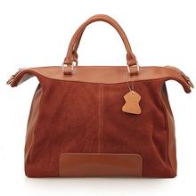 Genuine Leather And TOP END PU Bag Large Size Vintage Handbag Women Cowhide Leather Bag Suede