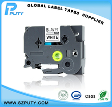 18mm P-touch label tapes tze-241 tze241 black on white