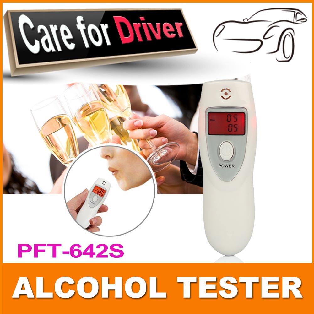 Prefessional полиция портативный алкоголя в выдыхаемом воздухе анализатор цифровой алкотестер тела Alcoholicity метр обнаружение алкоголя