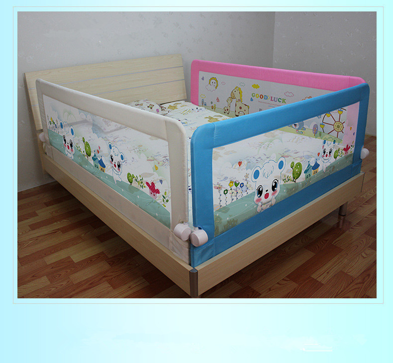 180 68cm Baby Safety Toddler Bed Guard Rail