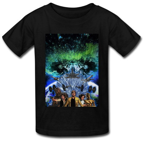Free Shipping New Arrival Mens Custom T Shirts Star Wars