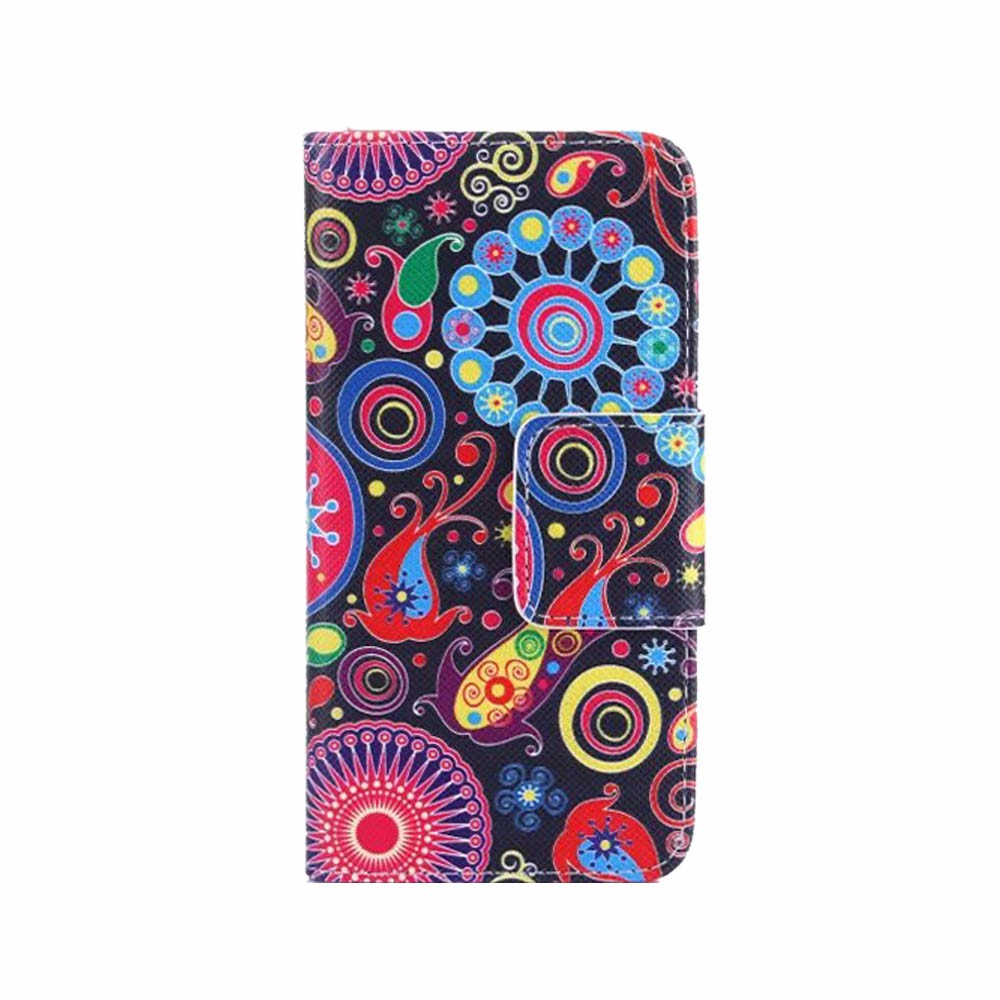 For Apple iPhone 6 Plus / 6S Plus 5.5 inch Fashion cute colorful printing pattern wallet Flip soft cover case for girl(China (Mainland))
