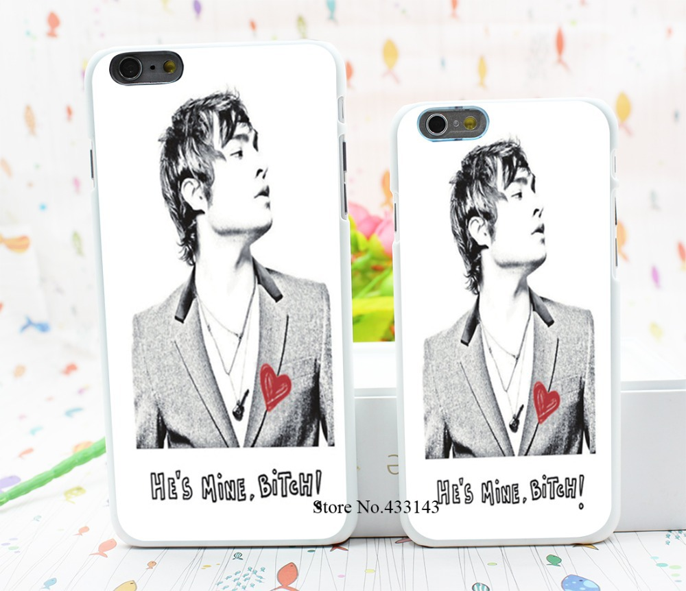 Gossip Girl Ed Westwick Chuck Bass Style Hard White Cover Skin Back Case for iPhone 6 6s 6 plus(China (Mainland))