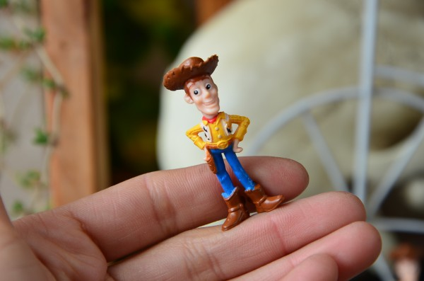 5pcs/lot Original bulk action toy cute MINI cowboy doll ornaments children gift wholesale free shipping(China (Mainland))