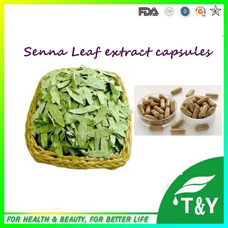 500mg x 300pcs GMP Standard Senna Leaf / Folium Sennae/ Senna Leaves Extract Capsules<br><br>Aliexpress