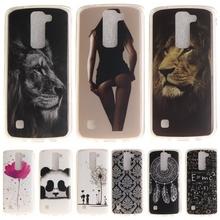Buy Phone Case sFor Fundas LG K10 K 10 Cartoon High Glossy Soft TPU Case Back Cover LG K10 LTE K420N K430 K430ds F670 for $1.28 in AliExpress store