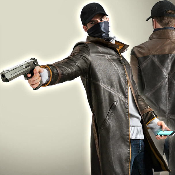 Watch Dogs Trench Coat Cheap