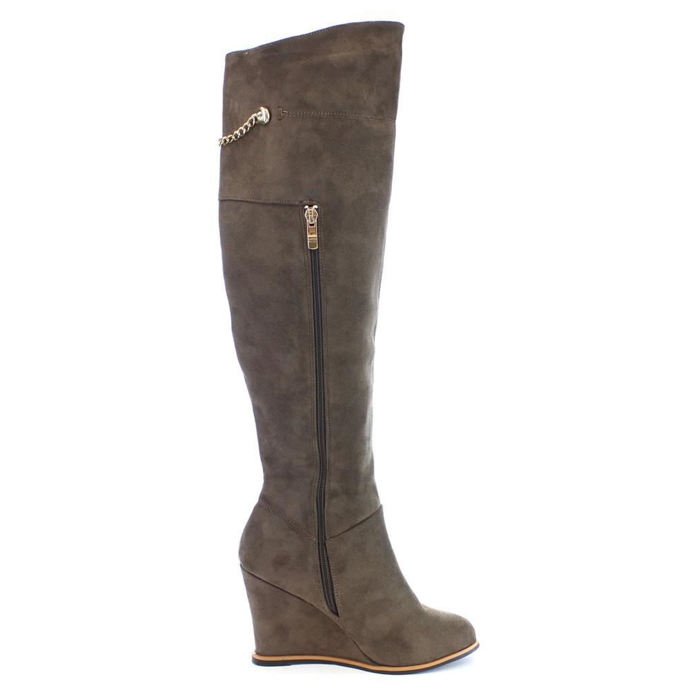 low wedge heel boots is heel