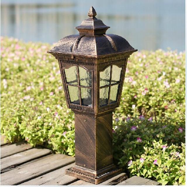 The new European-style garden lights lawn lamp outdoor waterproof antique light<br><br>Aliexpress