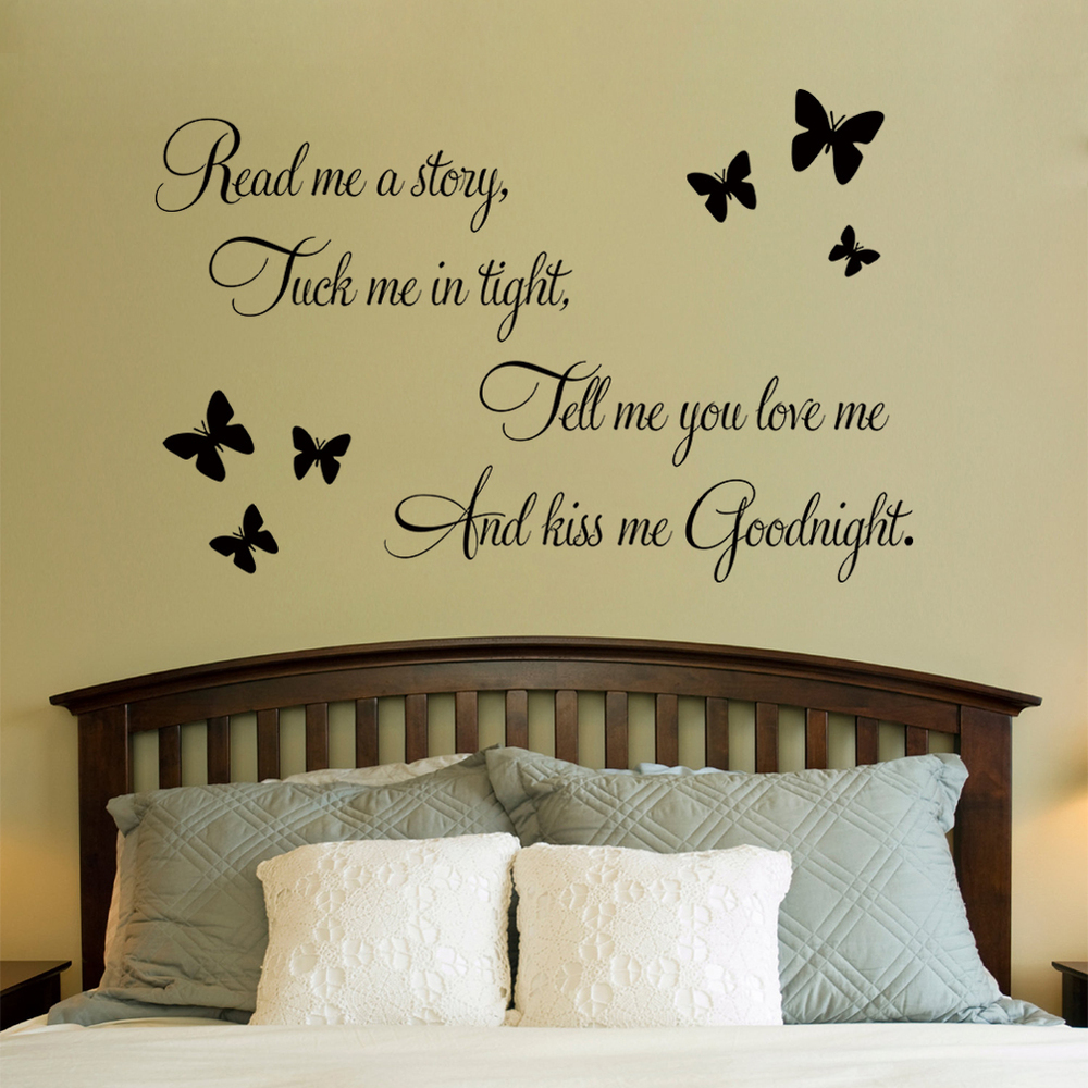 bedroom wall quotes like success